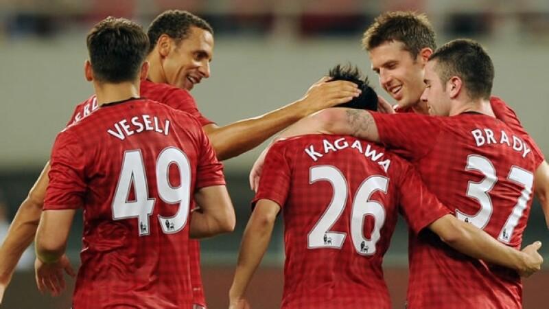 El Manchester United vence a un equipo chino