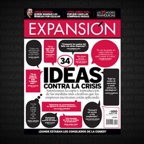 Tras la crisis de 2008, Expansión buscó a los empresarios del país para conocer las acciones que estaban llevando a cabo para no cerrar sus negocios. Así nació un especial con más de 30 lecciones; destacan el ingenio y la tecnología.