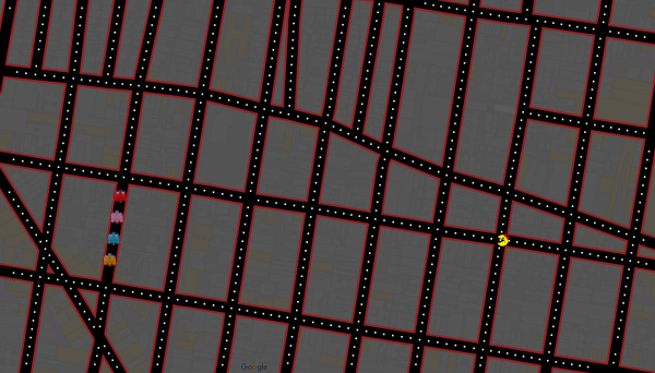 Una nueva forma de jugar PacMan
