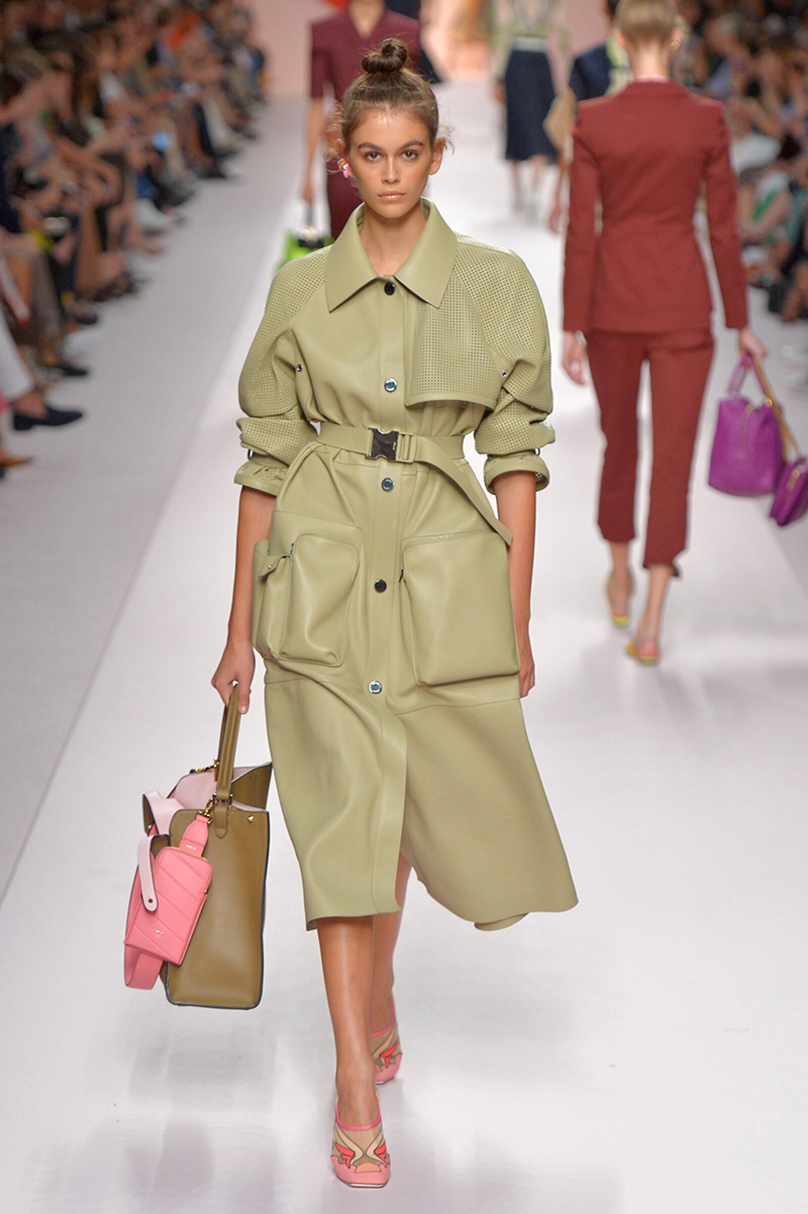 Fendi show, Runway, Spring Summer 2019, Milan Fashion Week, Italy - 20 Sep 2018