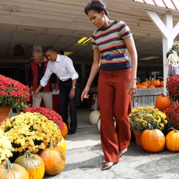 Michelle y Barack Obama Halloween