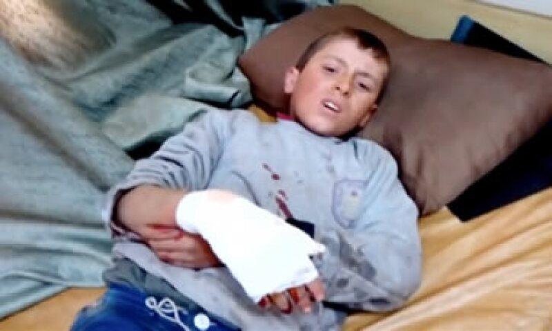 Al menos 15 personas murieron y otras 40 resultaron heridas en un hospital de mujeres y niños en Azaz. (Foto: Reuters)