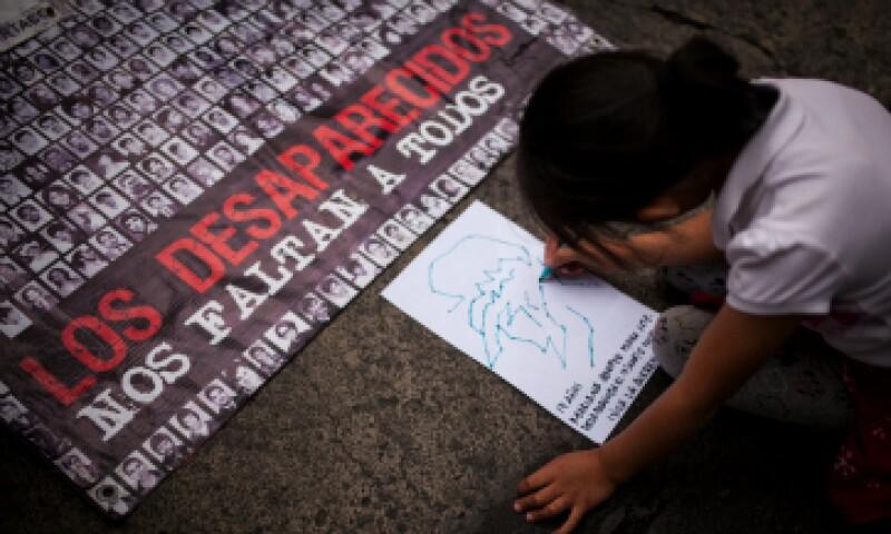 El número de desaparecidos en México llega ya a 25,500 personas, de acuerdo con el informe. (Foto: Getty Images)