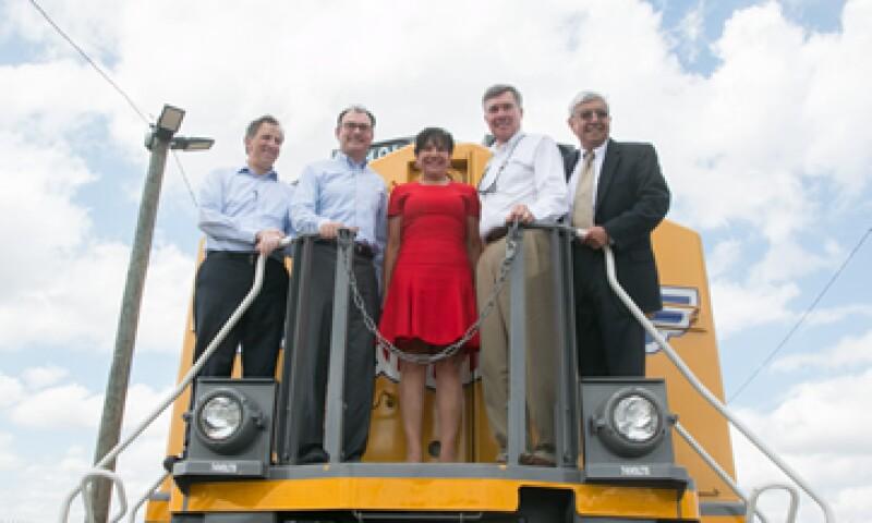 En el evento participaron el secretario de Hacienda, Luis Videgaray –segundo de izquierda a derecha- y la titular del Comercio de EU, Penny Pritzker. (Foto: Cortesía Hacienda )