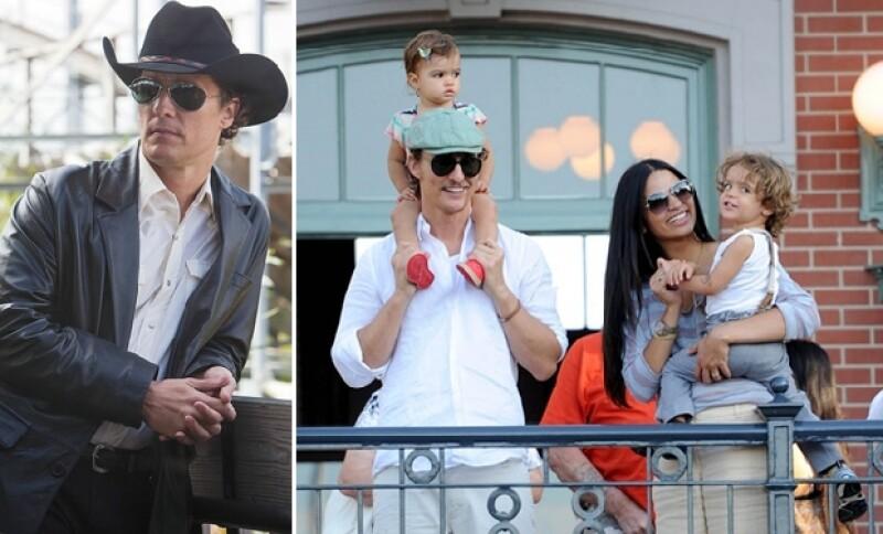 El guapo actor solía meterse en problemas con la ley, sin embargo, ahora es todo un hombre de familia. Está casado y tiene tres lindos hijos.