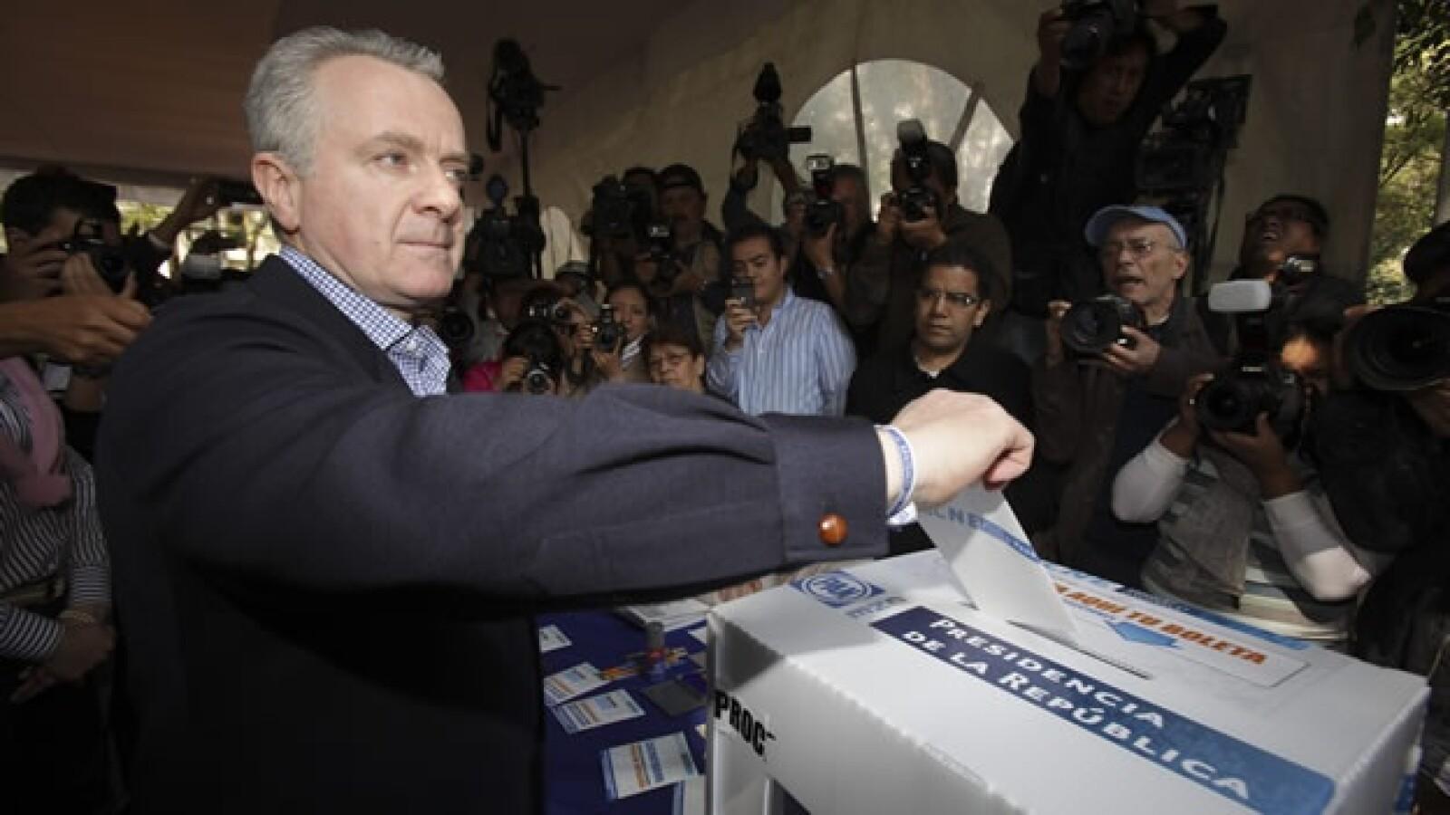 Santiago Creel voto elección