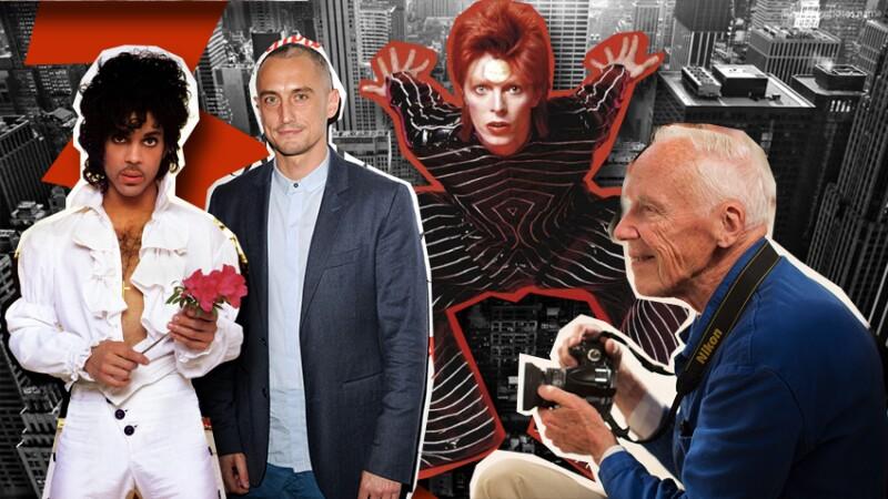 Prince,  David Bowie y Bill Cunningham