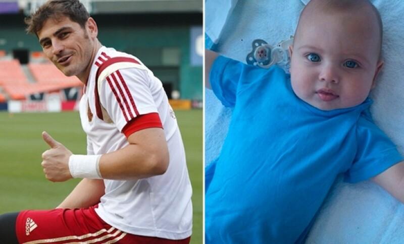 Iker ha sido portero del Real Madrid los últimos 15 años. Mientras que su estancia en el equipo parece preocuparlo, el desarrollo de su bebé lo emociona sobremanera.