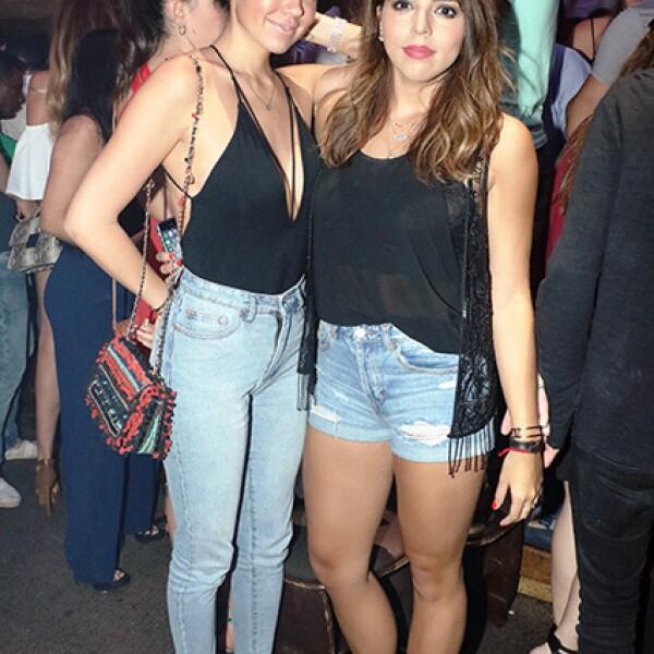 Lorena González y Alejandra Bastida