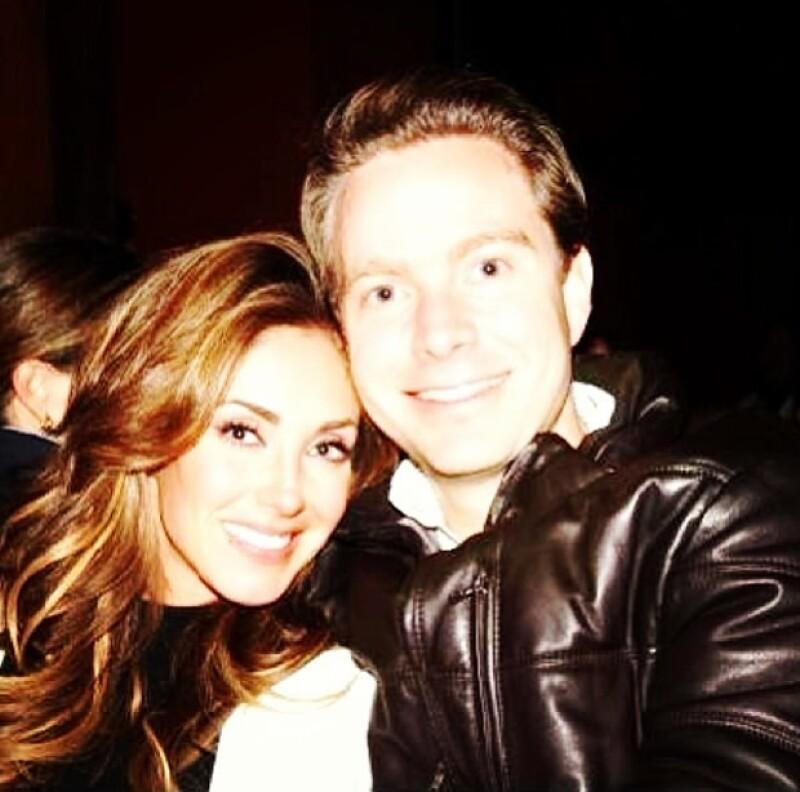 Anahí y Manuel llevan un año juntos.