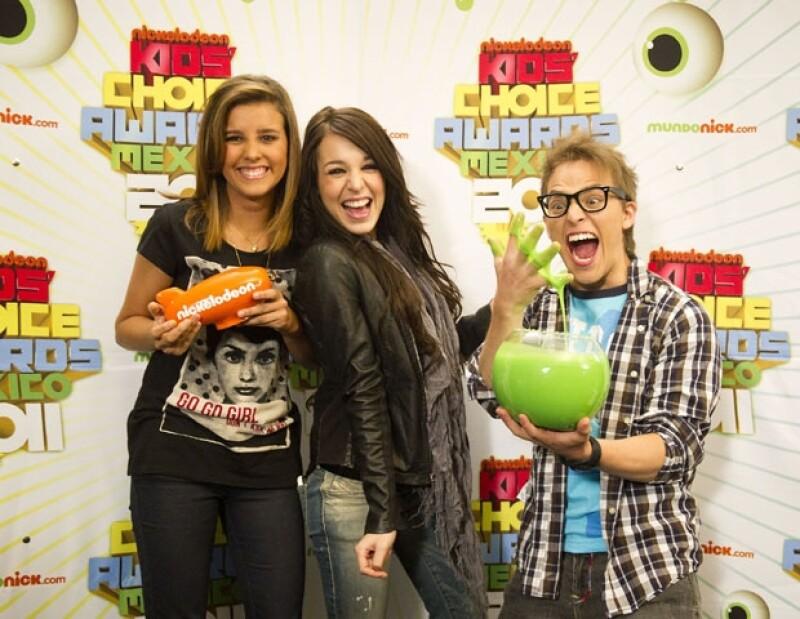 Paulina Goto, Danna Paola y Yurem forman parte del equipo de conductores de los premios.