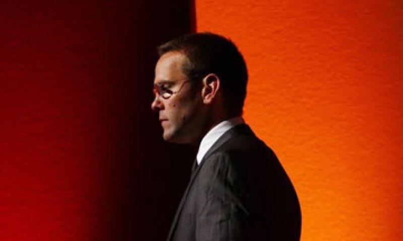 Hasta hace poco, James Murdoch era considerado el sucesor de su padre en News Corp. (Foto: Reuters)