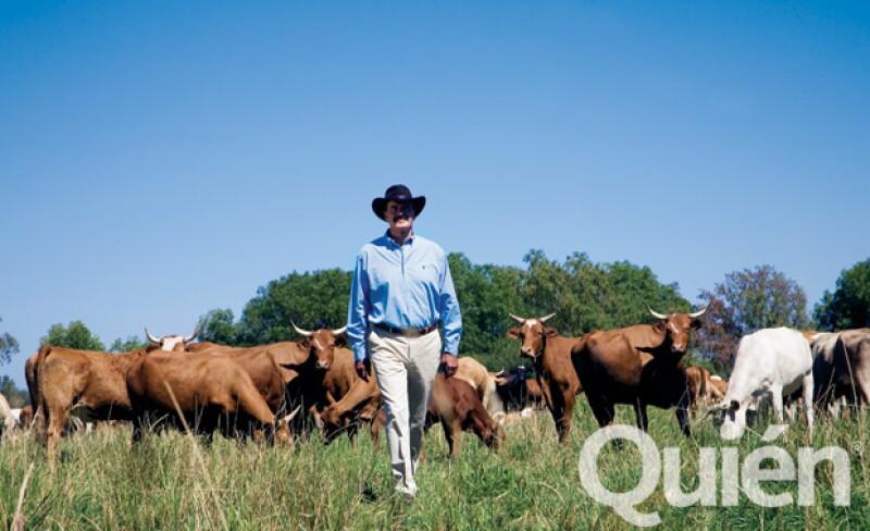 Además de criar ganado, en el rancho San Cristóbal se cultiva brócoli, papa y maíz.