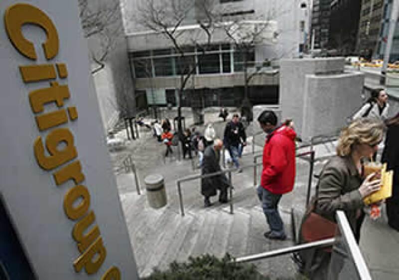 Citigroup acumula cinco trimestres con ganancias consecutivas. (Archivo)