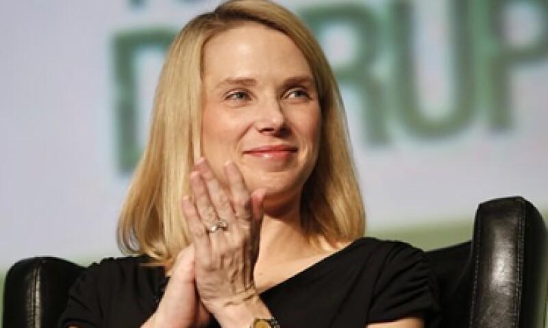Marissa Mayer lidera el esfuerzo por reavivar el débil crecimiento de los ingresos de Yahoo. (Foto: Reuters)