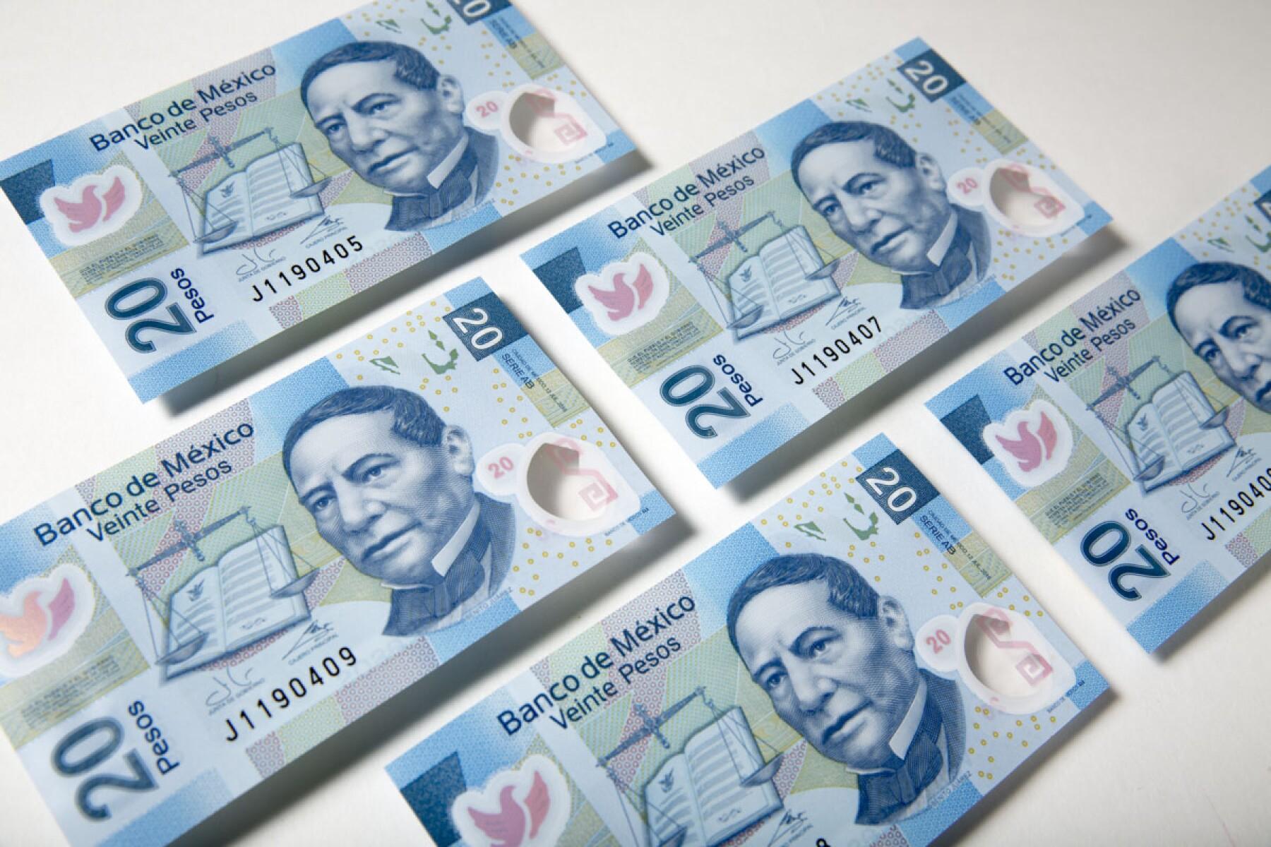 Billetes Pesos Mexicanos