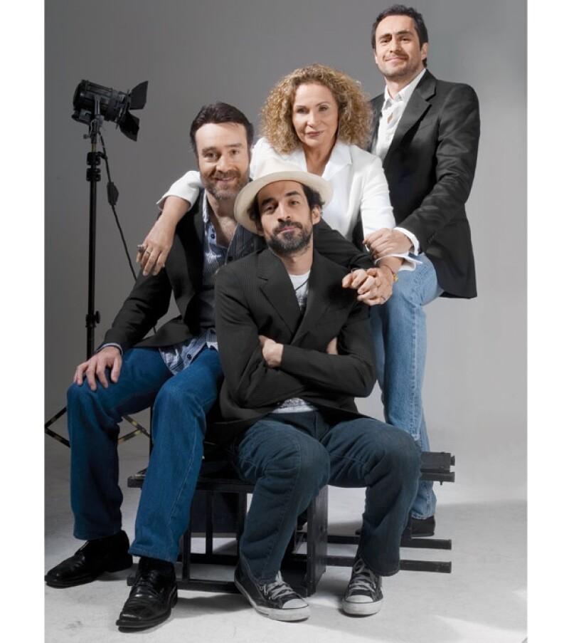 A los hermanos Bichir el amor por la actuación les viene de herencia ya que su mamá, Maricruz, es actriz de teatro.