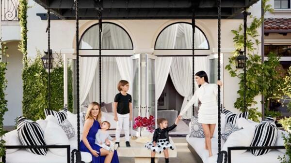 Las hermanas presumieron los interiores de sus casas valoradas en más de 138 millones de pesos.