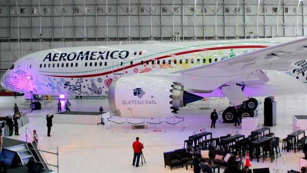 "Aeromexico Boeing 787-9 Dreamliner ""Quetzalcóatl"""