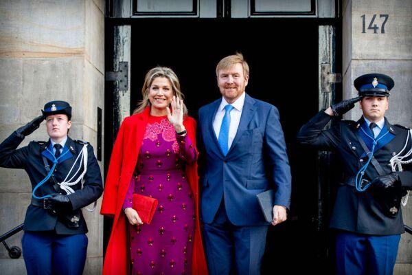 Máxima de Holanda y el rey Guillermo