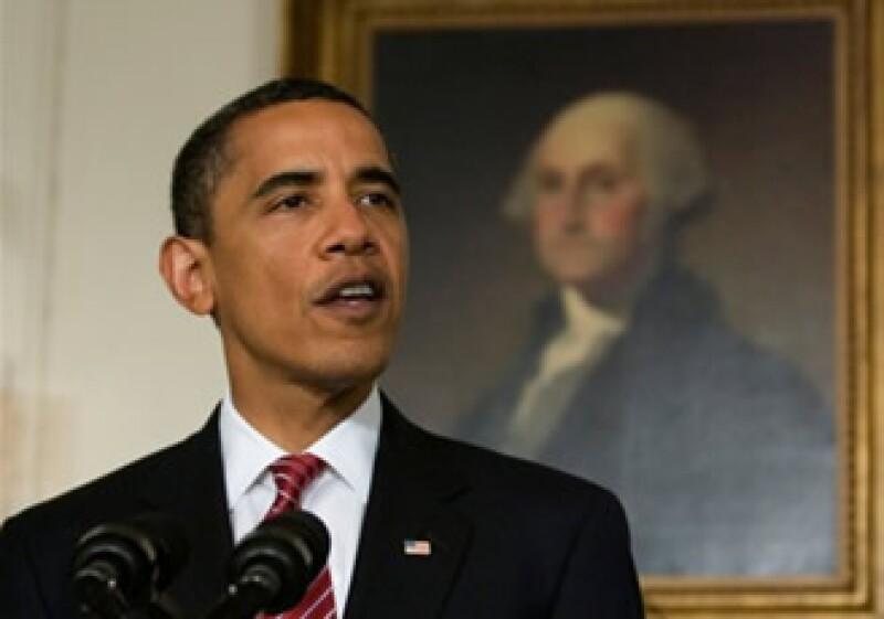 El mandatario dedicó su discurso semanal por radio e Internet para presionar a la cámara alta. (Foto: AP)