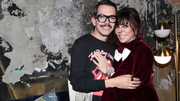 Manolo Caro y Verónica Castro son grandes amigos.
