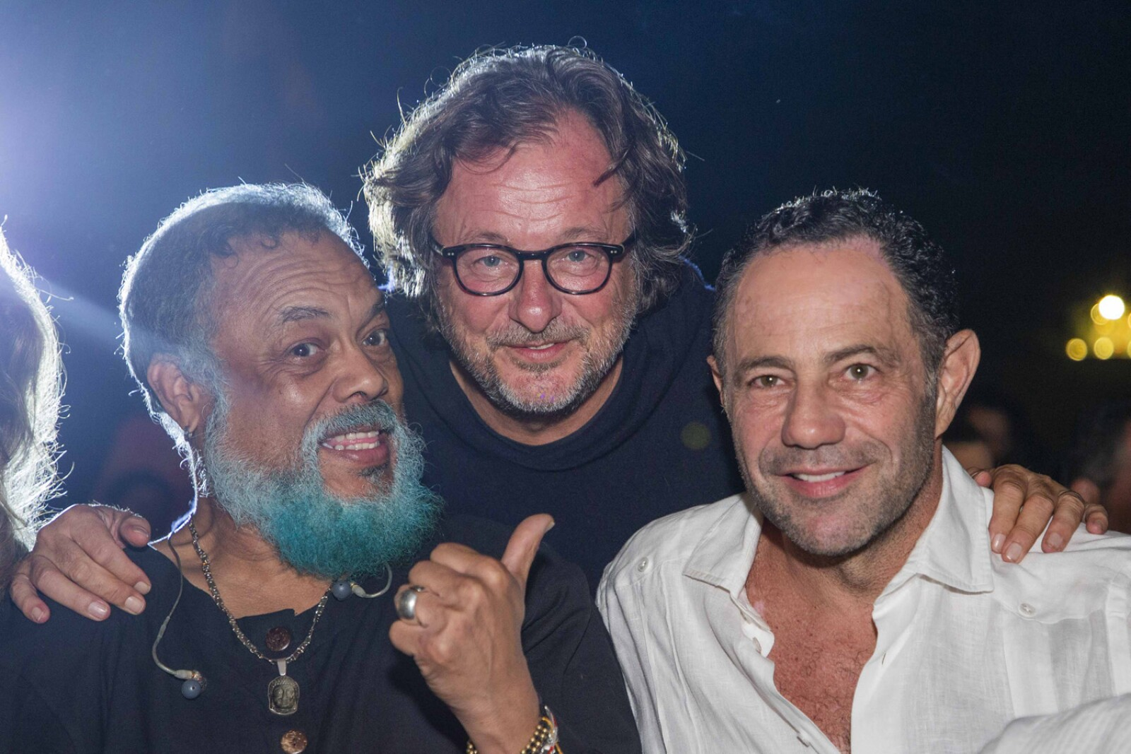 Francisco Céspedes, Filippo Brignine, Sergio Berger