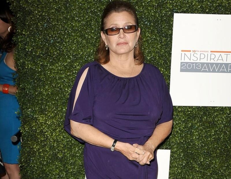 Carrie fue ingresada en febrero pasado a una clínica psiquiátrica tras sufrir un comportamiento atípico.