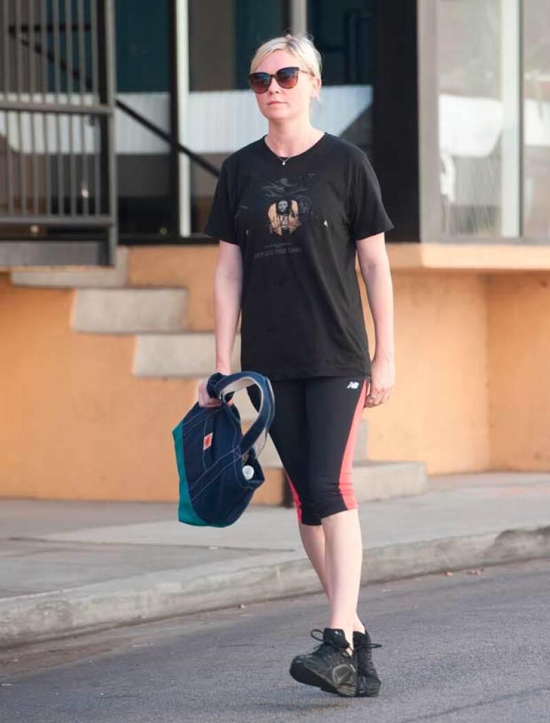 Kirsten Dunst es una de las celebridades que no publican nada sobre cómo se mantiene saludable.