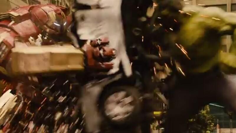 Una lucha entre Iron Man y Hulk será parte de lo que podrás ver en ?Avengers: Age of Ultron? en mayo de 2015
