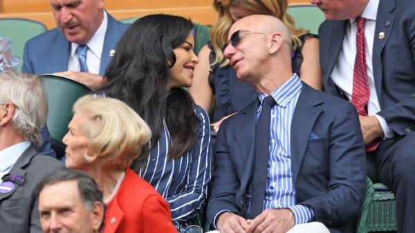 Jeff Bezos y Lauren Sanchez