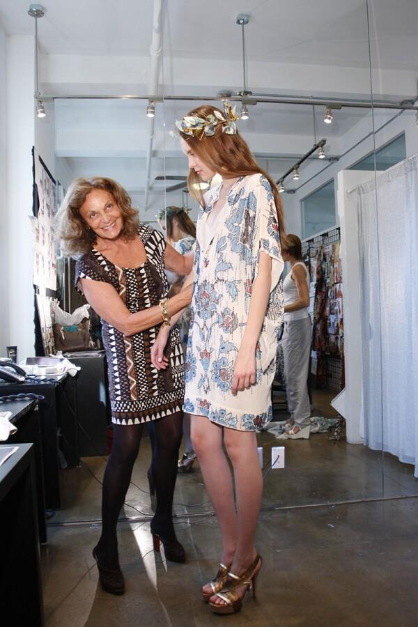 Diane von Furstenberg Spring 2010 RTW, New York