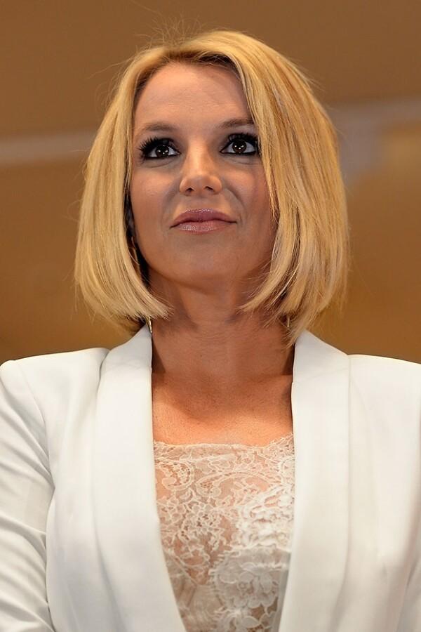 Spears sorprendió luciendo un corte medio en la misma tonalidad rubia que luce desde hace meses.
