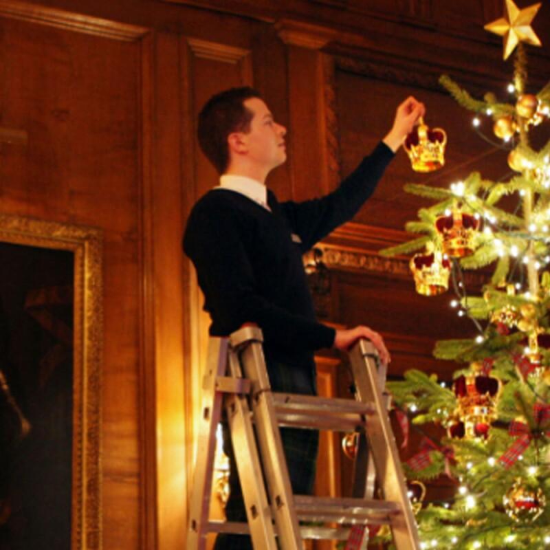 El Árbol de Navidad real.