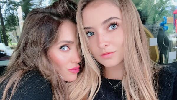 Anahí y su sobrina Ana Paula