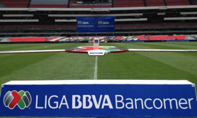 La presentación del patrocinio se realizó en el Estadio Azteca. (Foto: Tomada de twitter.com/ligaMx)
