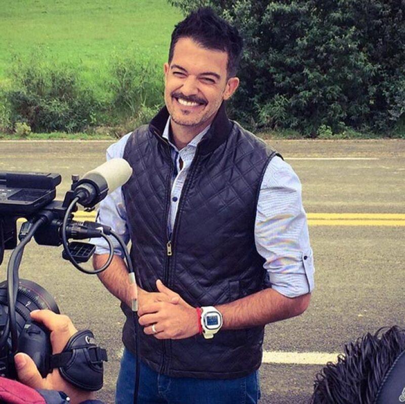 El actor argentino salió del hospital hace un mes después de haber permanecido por varias semanas.