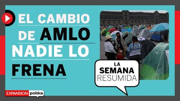 #LaSemanaResumida   Los cambios de AMLO y la consulta no FRENAn las disputas