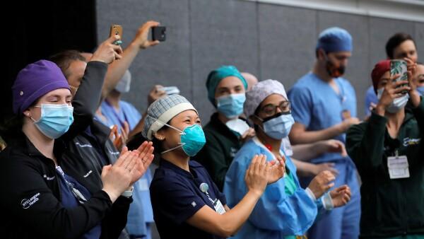 Servidores de la salud - coronavirus - pandemia - recuperaci´ón