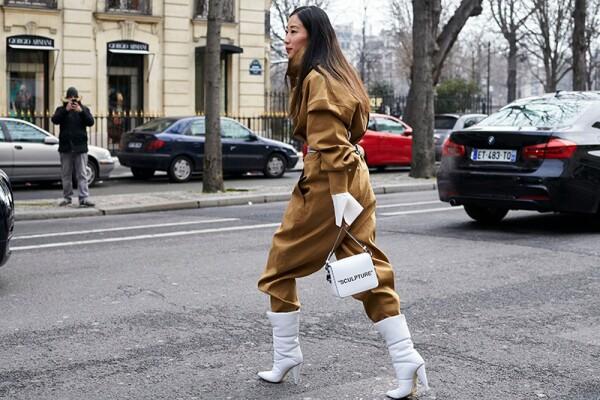 Street Style Fall Winter 2018 Paris Fashion Week France - 01 Mar 2018