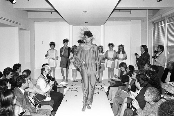 Diane von Furstenberg Spring 1983 RTW, New York