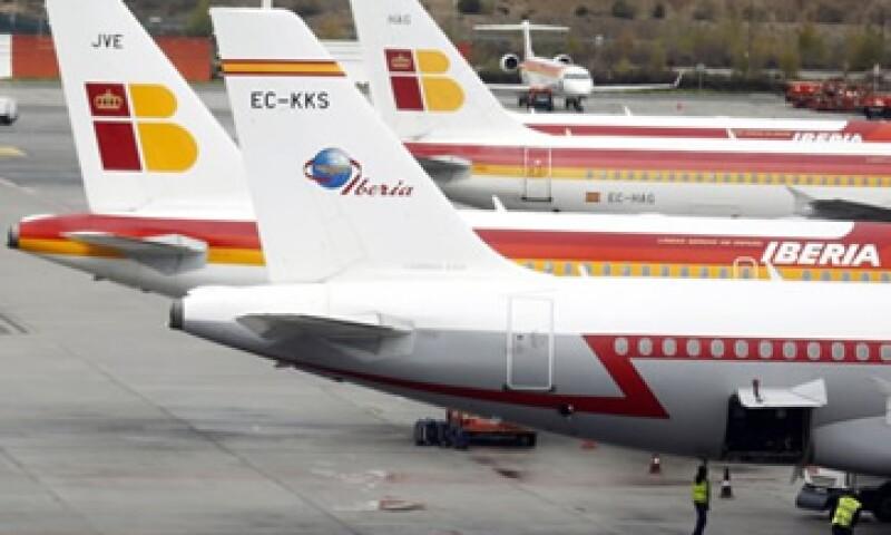 Las huelgas en Iberia se realizarán del 18 al 22 de marzo. (Foto: Getty Images)
