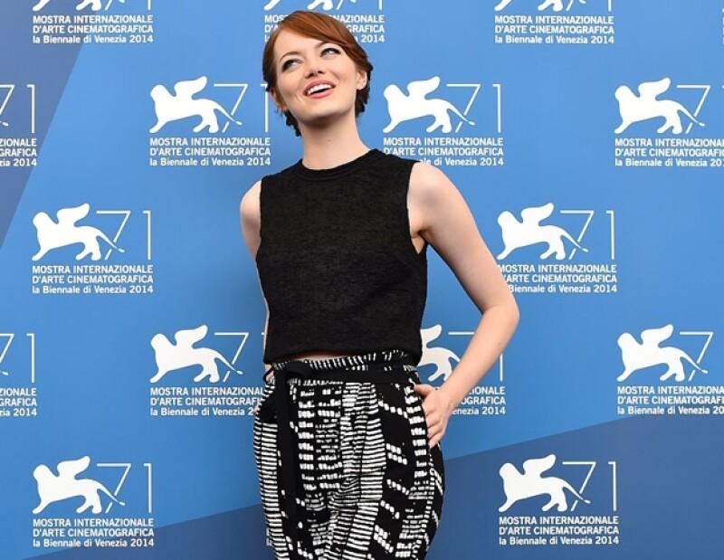 Emma Stone es la candidata perfecta para ser la novia de cualquiera. Tiene belleza, sentido del humor, inteligencia, etc, etc, etc.
