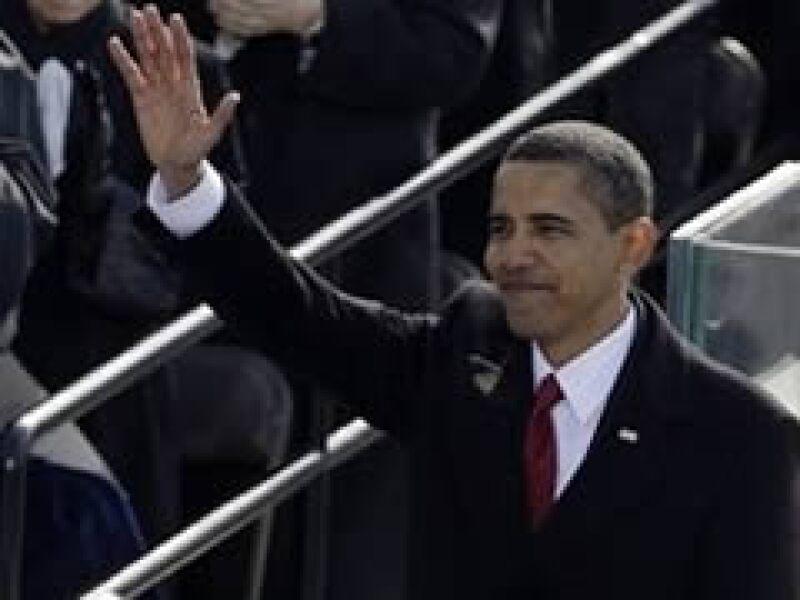 El nuevo presidente de Estados Unidos tomó posesión el martes. (Foto: AP)