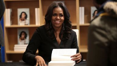 Michelle Obama Holds  First Book Signing In Her Hometown Of Chicago