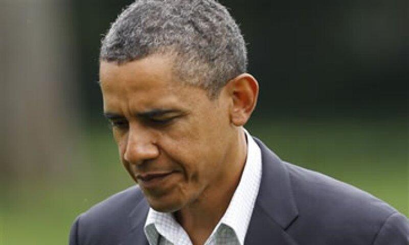 Obama enfrenta una aprobación mínima de 44%, de acuerdo con encuestas. (Foto: AP)
