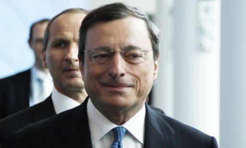 El 5 de julio pasado, Draghi indicó que la expansión económica de la eurozona sigue siendo débil. (Foto: Reuters)