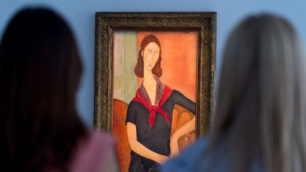Modigliani Masterpiece Unveiled At Sotheby's In London