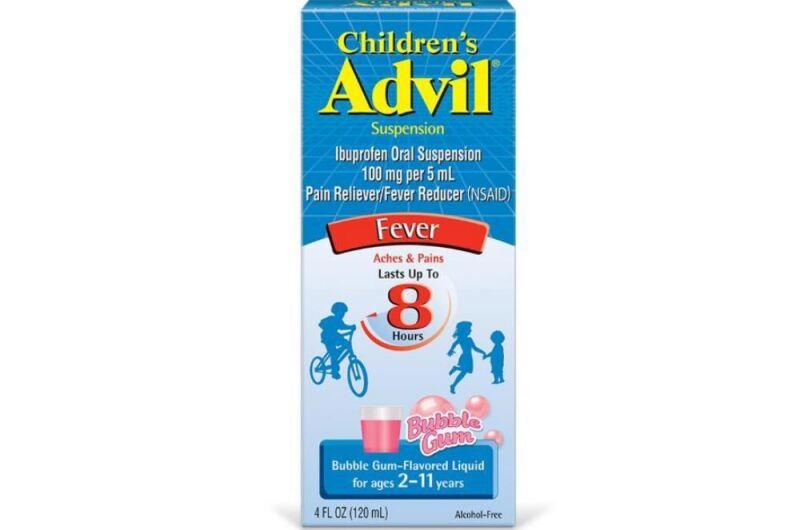 Retiran Del Mercado Estadounidense Un Lote De Advil Para Ninos