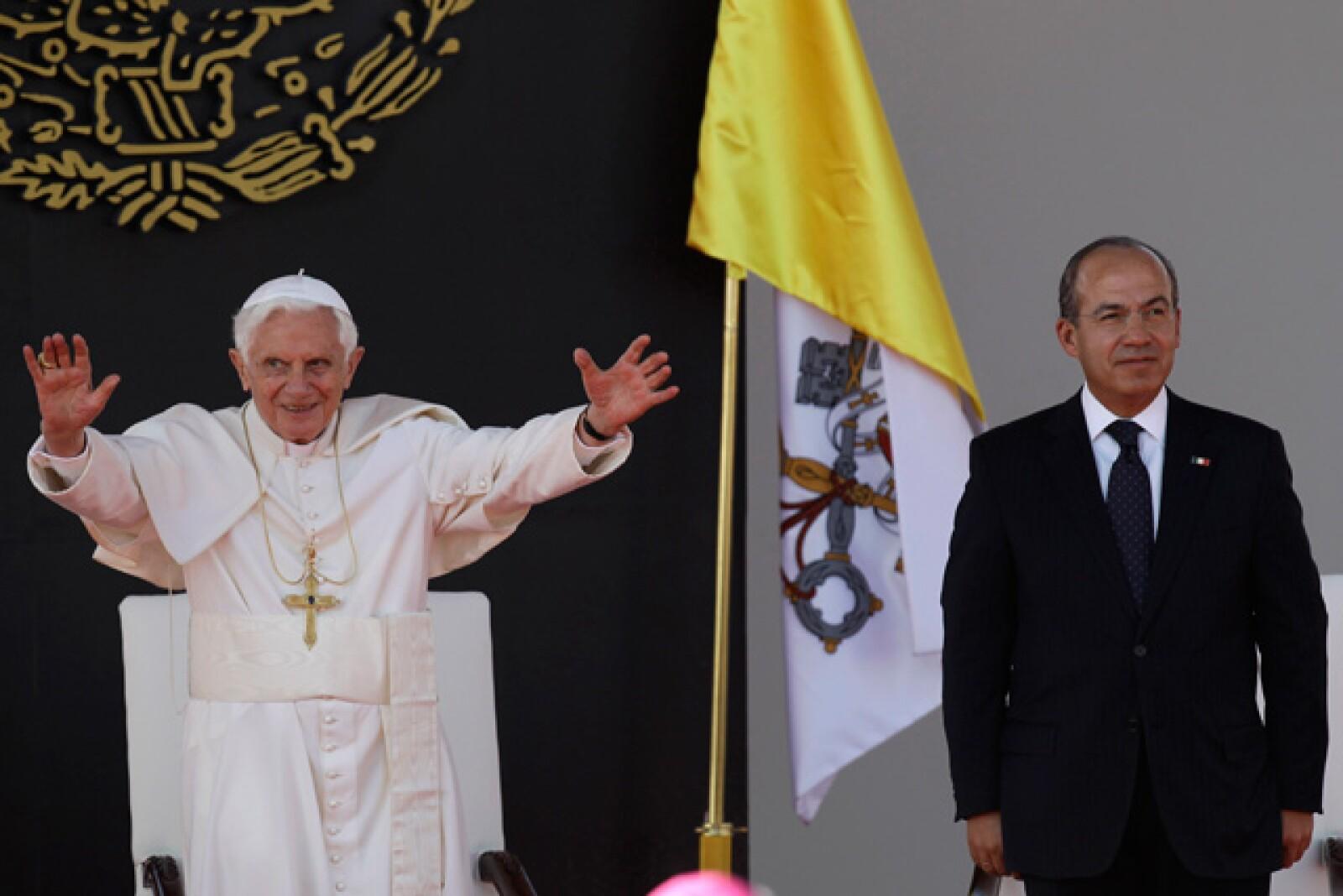 El máximo jerarca de la Iglesia Católica expresó su beneplácito por cumplir con la visita pendiente que había dejado Juan Pablo II a tierras guanajuatenses.